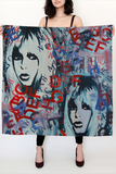 Bridget Bardot Large Square Scarf - Secret Lives...