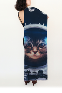 Galactic Kitty Long Scarf - Secret Lives...