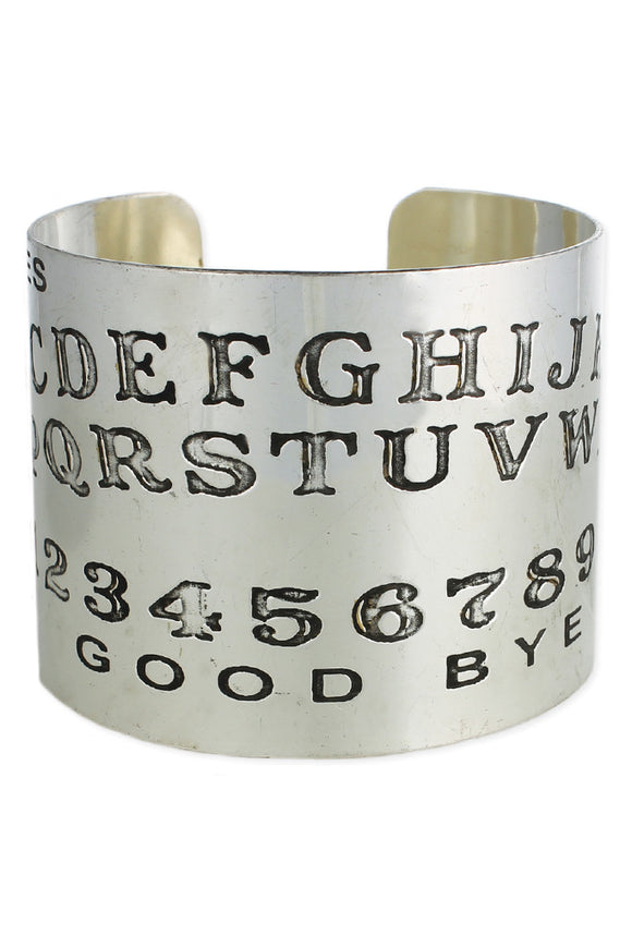 Other Side Silver Cuff Bracelet - Secret Lives...