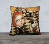 Crazy Alice Throw Pillow Cases - Secret Lives...