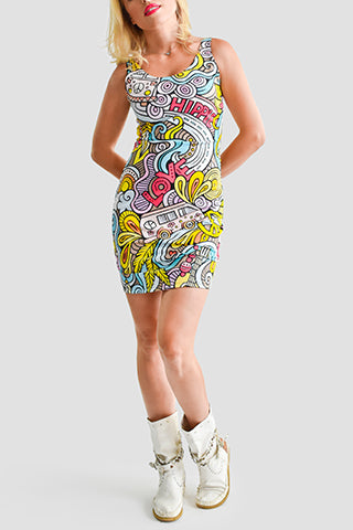 Groove Me Bodycon Dress - Secret Lives...