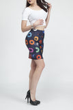 Vinyl Junkie Fitted Skirt - Secret Lives...