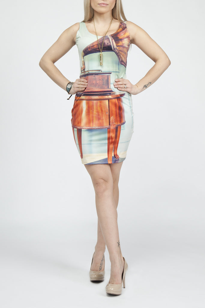Kickin' It Old School Bodycon Dress - Secret Lives...