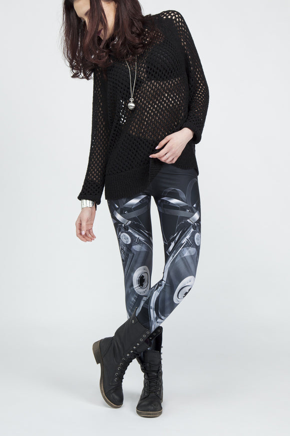 Made You a MixTape Leggings - Secret Lives...