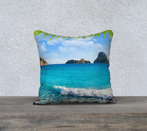 Ibiza Magic Throw Pillow Cases - Secret Lives...