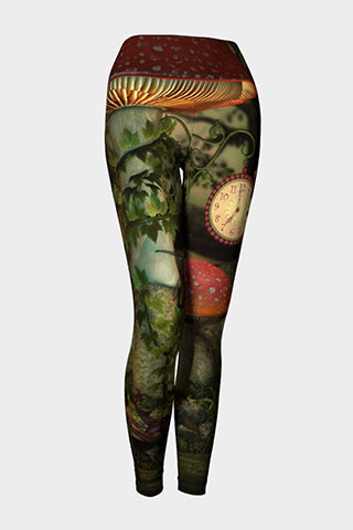Magic Ferris Wheels Yoga Leggings - Secret Lives...