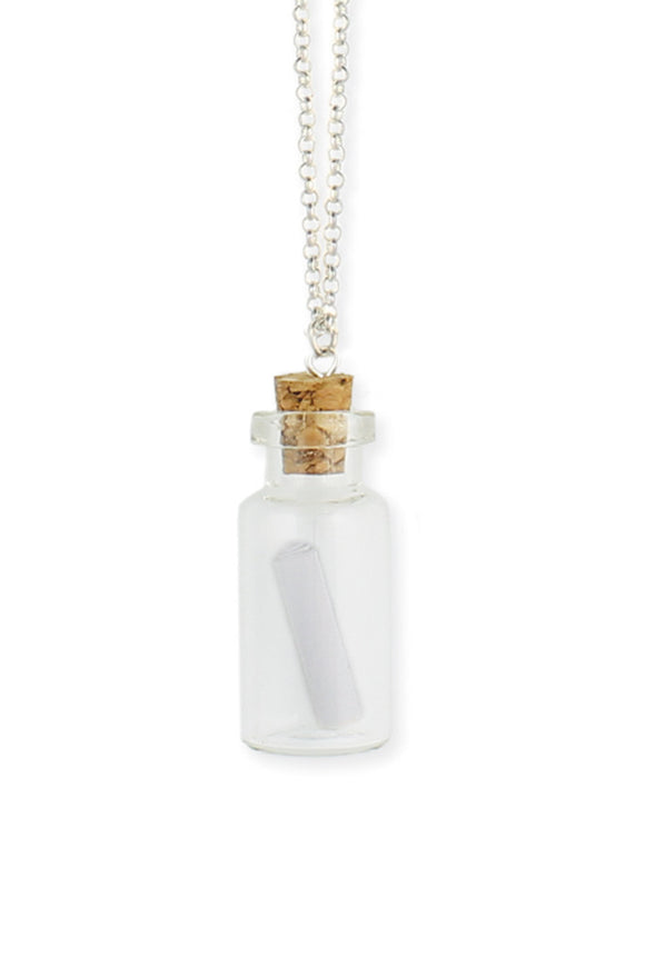 Message In A Bottle Necklace - Secret Lives...