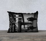 Project White Rabbit Throw Pillow Cases - Secret Lives...