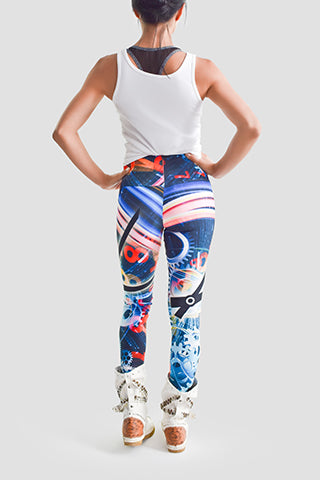 Time Flies Leggings - Secret Lives...