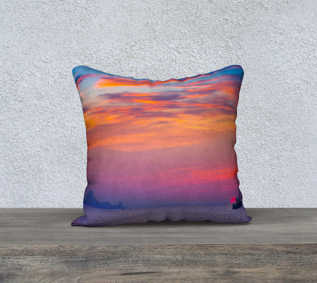 When The Sun Goes Down Throw Pillow Cases - Secret Lives...