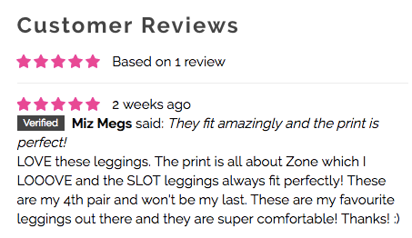 No Place Like Zone Leggings