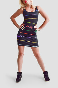 Good Vibrations Bodycon Dress - Secret Lives...