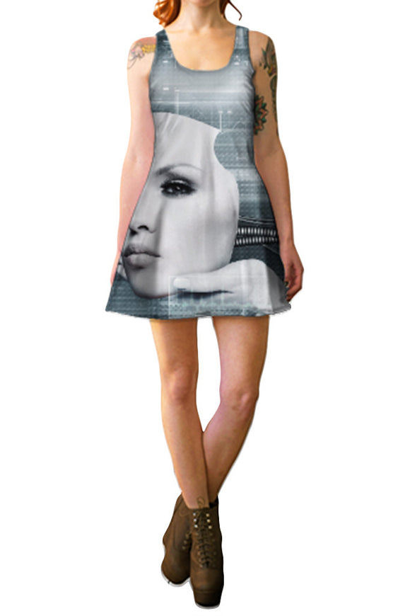 Futura Flare Dress - Secret Lives...