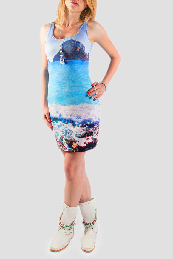 Ibiza Magic Bodycon Dress - Secret Lives...