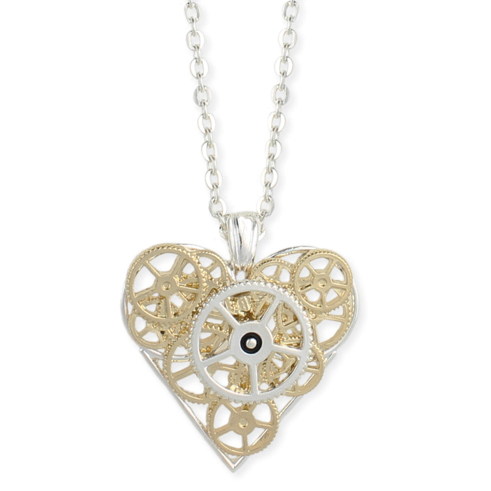 Punk Stole My Heart Necklace - Secret Lives...