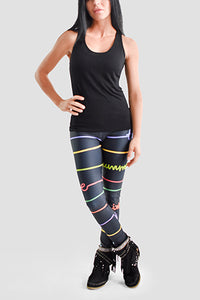 Good Vibrations Leggings - Secret Lives...