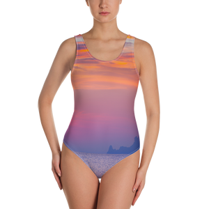 When the Sun Goes Down One-Piece Swimsuit - Secret Lives...