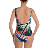 Time Flies One-Piece Swimsuit - Secret Lives...