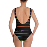 Good Vibrations One-Piece Swimsuit - Secret Lives...