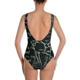 Mad Science One-Piece Swimsuit - Secret Lives...