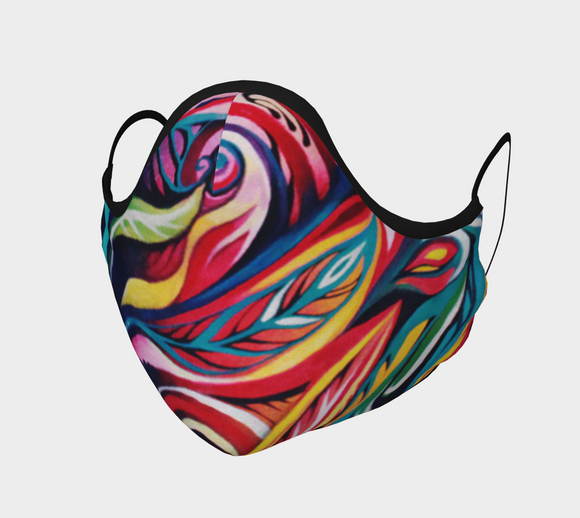 Artist Collab: In Living Colour x NK Design Face Covering