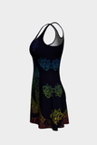 Chakra To Me Flare Dress - Secret Lives...