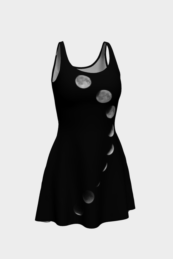 Just A Phase Flare Dress - Secret Lives...