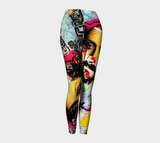 Soulful Secrets Leggings x Matt Pine Art - Secret Lives...