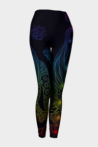 Chakra To Me Leggings - Secret Lives...
