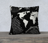 Show Me The World Throw Pillow Cases - Secret Lives...