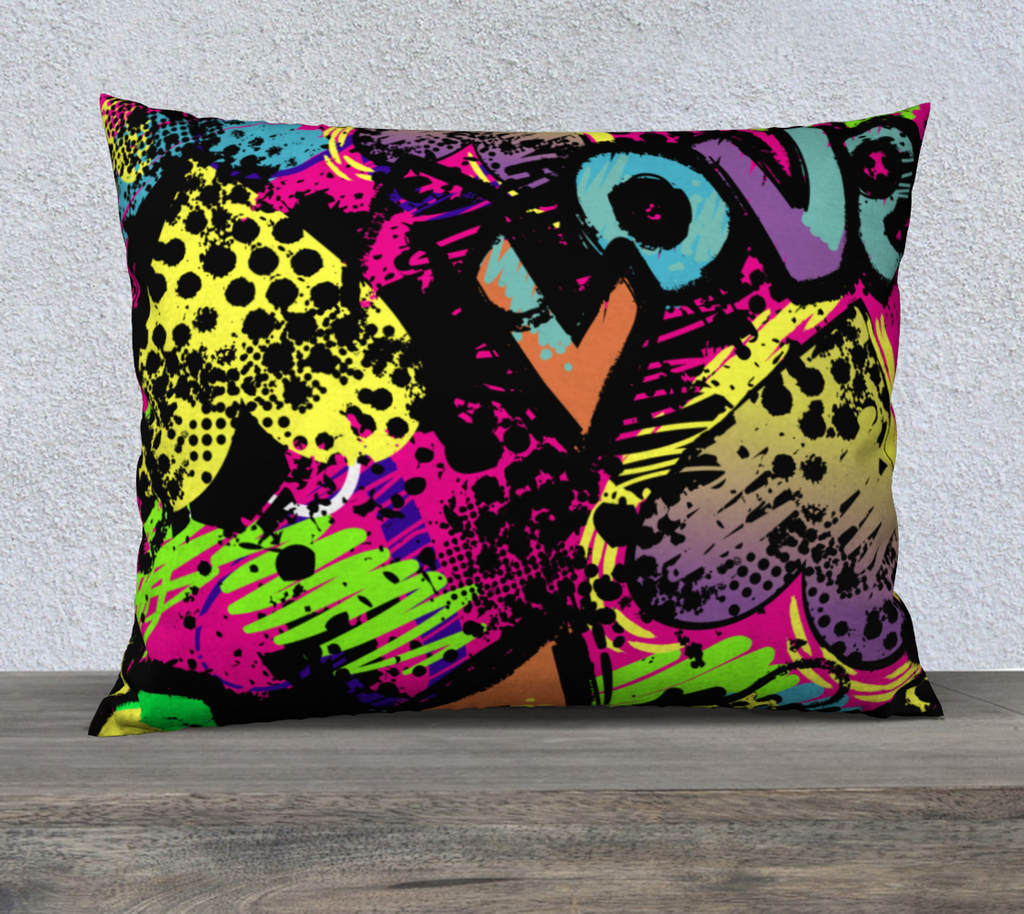Love Me Not Throw Pillow Cases - Secret Lives...