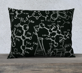 Mad Science Throw Pillow Cases - Secret Lives...