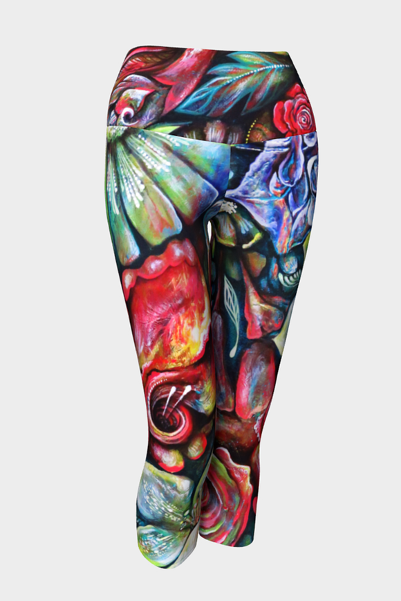In Living Colour Yoga Capris x NK Design - Secret Lives...