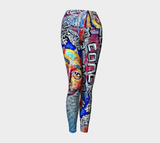 Tupac Yoga Leggings x Matt Pine Art - Secret Lives...