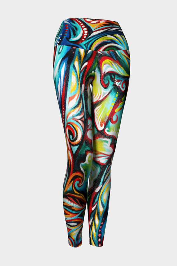 In The Deep Yoga Leggings x NK Design - Secret Lives...