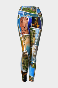 Take Me Away Yoga Leggings Sample - Secret Lives...