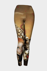 Crazy Alice Yoga Leggings - Secret Lives...