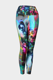 Purple Rain Yoga Leggings Clearance - Secret Lives...