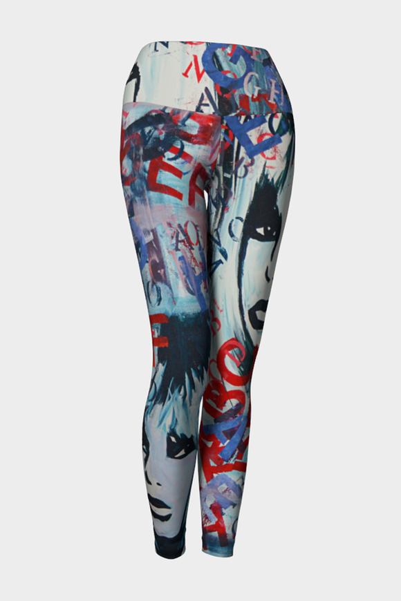 Bridget Bardot Yoga Leggings - Secret Lives...