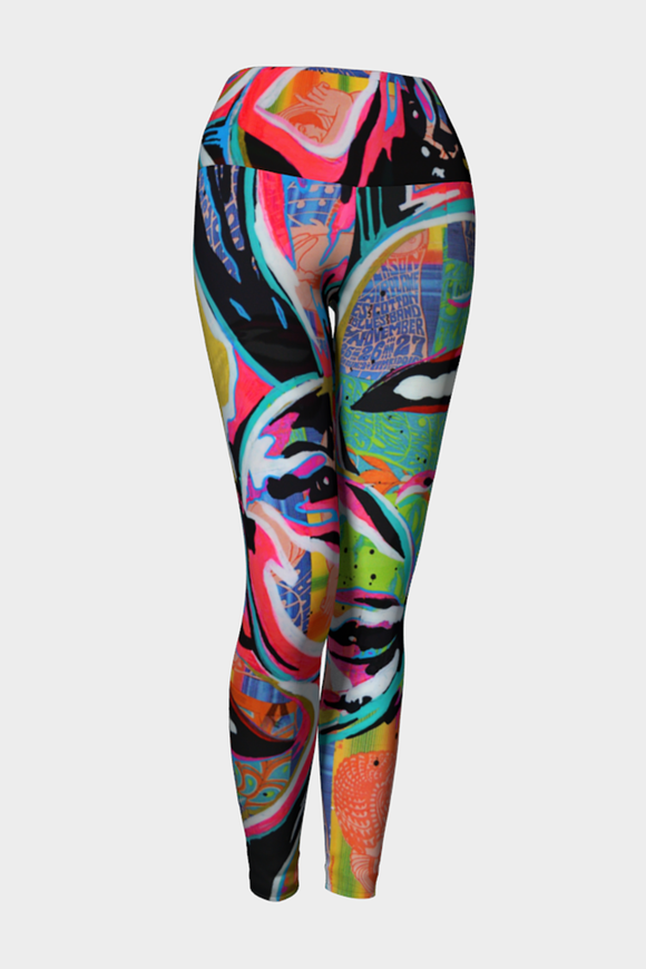 Janice Joplin Yoga Leggings x JessGo - Secret Lives...