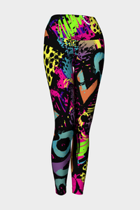 Love Me Not Yoga Leggings - Secret Lives...