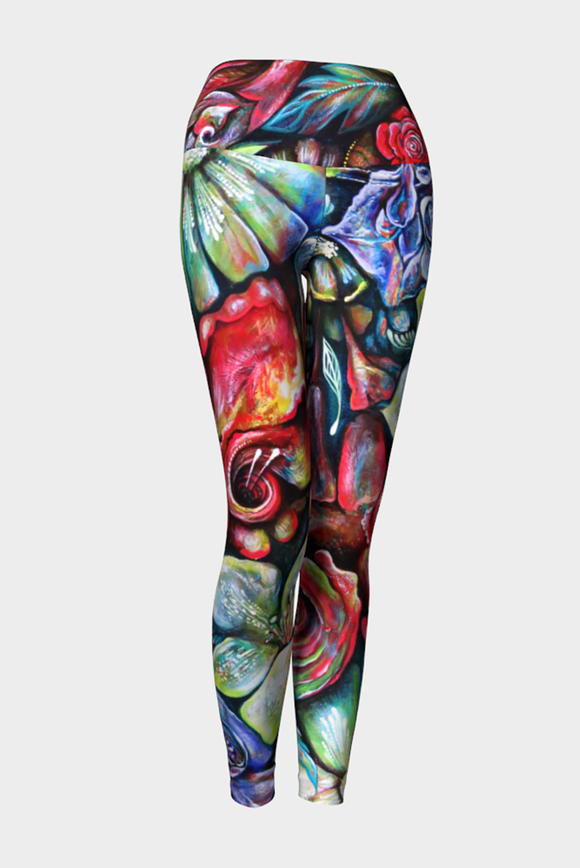 In Living Colour Yoga Leggings x NK Design - Secret Lives...