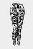 My House Yoga Leggings Sample - Secret Lives...
