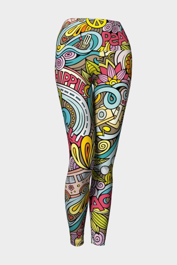 Groove Me Yoga Leggings - Secret Lives...