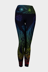 Chakra To Me Yoga Leggings - Secret Lives...