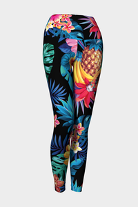 Tropical Dreams Yoga Leggings - Secret Lives...