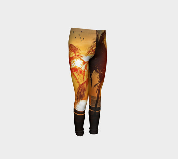 Cool Summer Nights Youth Leggings - Secret Lives...