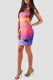 When The Sun Goes Down Bodycon Dress - Secret Lives...