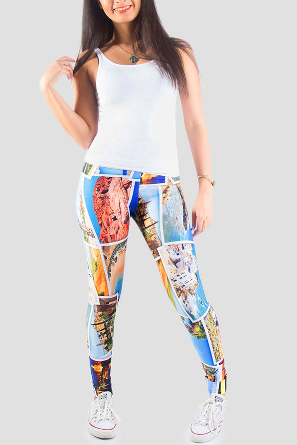 Take Me Away Leggings - Secret Lives...