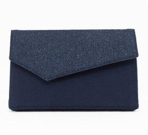A 'Night Sky' Wool Clutch